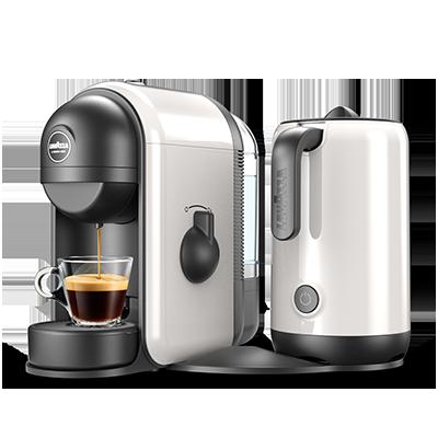 min caff latte coffee machine lavazza. Black Bedroom Furniture Sets. Home Design Ideas